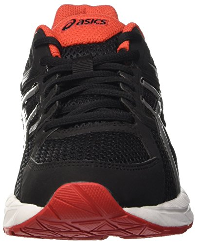 Asics Gel-contend 3, Gymnastique homme Nero (Black/Lightning/Vermilion)