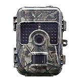 Wildkamera 16MP 1080P Jagd Kamera 20m Nachtsicht Infrarot Wildlife Kamera Wasserdichte IP66 Überwachungskamera mit 2.4