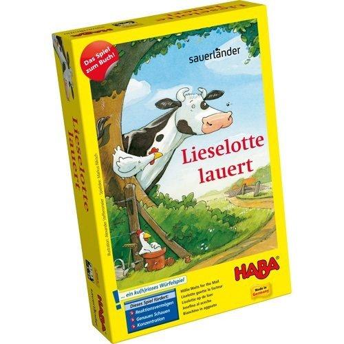 Lieselotte: Lieselotte lauert (Haba): Lieselotte: Mitbringspiel 1 (Haba). ....ein ku(h)rioses Würfelspiel (Reise-puppe Möbel)