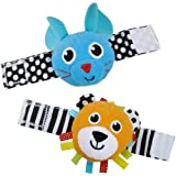 Sassy list Rattle (2 coset) Lion & mouse TYBW80060 (japan import) by Sassy