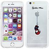 """iPhone 6 Plus/6s Plus Marvel Comic Silikonhülle / Gel Abdeckung für Apple iPhone 6S Plus 6 Plus (5.5"""") / Schirm Schutz und Tuch / iCHOOSE / Spider Man"""