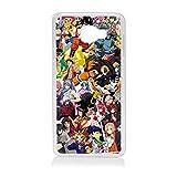 Générique Coque pour Samsung A3 2017 Motif Manga One Piece Dragonball Naruto Ichigo Meddley