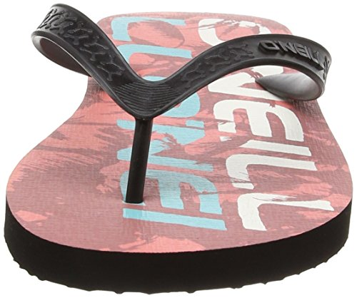 O'Neill Fm Profile Pattern, Tongs homme Rouge (3900 Red Aop)