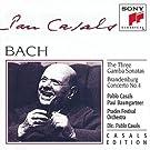 Gamba Sonatas / Brandenburg Concerto 4 by J.S. Bach (2006-07-29)