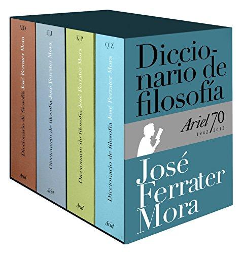 Diccionario de Filosofía (estuche) (Ariel Letras) por José Ferrater Mora