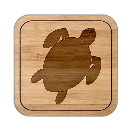 Mr. & Mrs. Panda Mitbringsel, Gläser, Untersetzer quadratisch Schildkröte - Farbe