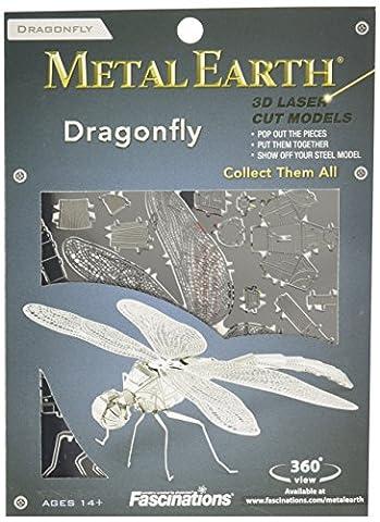 Metal Earth - 5061064 - Maquette 3D - Insectes - Libellule - 10,8 x 9,11 x 2,97 cm - 1 pièce