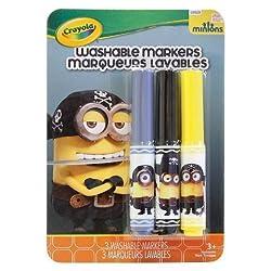 Crayola 3ct Minions Markers - Eye, Matie
