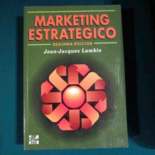 Marketing estrategico por Lambin