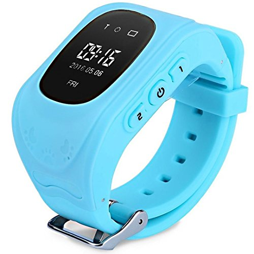 Reloj GPS Niño Inteligente Smartwatch Tracker Rastreador Localizador Anti-Lost Seguridad Niños Reloj...