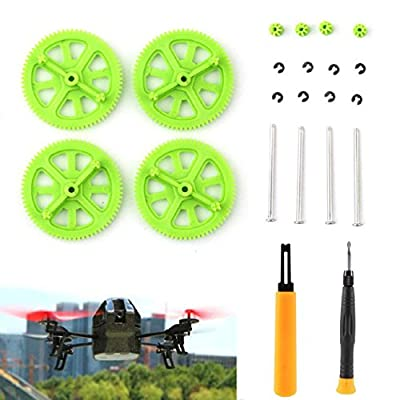 Mallom® Green Pinion Shaft Mounting Tools & Gears Kit For Parrot AR Drone 2.0 from Mallom®