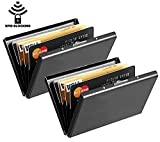#9: DAHSHA Black Credit Card Case(Set Of 2)