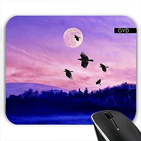 Mousepad - Crow moon by PINO