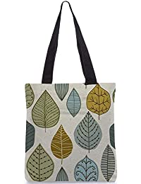 Snoogg Tote Bag 13.5 X 15 Inches Shopping Utility Tote Bag Made From Polyester Canvas - B01GCILKPM
