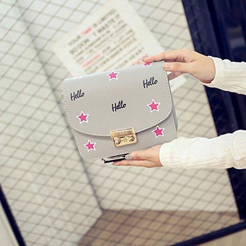 Colecciones De Despacho Manchester Gran Venta Para La Venta Longra Hobo delle donne di moda in pelle Borsa a tracolla Messenger borsa Grigio KvXefc