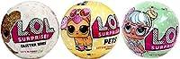 Pack con 3 LOL Surprise: Lol Glitter + Lol Pets + Lol Serie 2 Wave 2