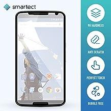 smartect® Protector de Pantalla para Motorola Nexus 6 • Cristal Vidrio Templado • Gorilla glass con grado de dureza 9H • Cristal protector de calidad contra rasguños