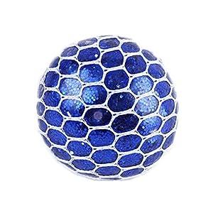 Squishy Mesh Grape Ball Depression Ball Squeeze Juguete Anti estrés Apretar Goma de ventilación Grape Stress Relief Ball para niños Adultos Anti Stress de RuiChy