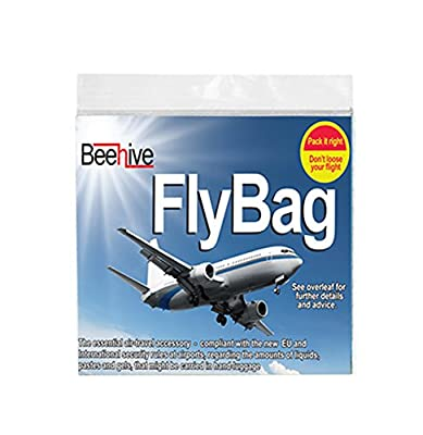 Travel Security Clear Liquid Bag-Pack Of 8