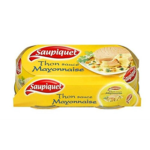 Saupiquet thon sauce mayonnaise 1/6 135g lot de 2 - ( Prix Unitaire ) - Envoi Rapide Et Soignée