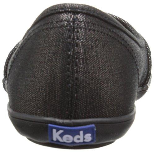 Keds Wf557, Baskets Basses Femme Noir (Blk/Blk)