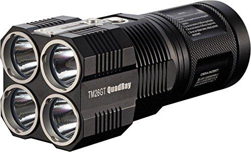 Nitecore TM26GT quadray - 704 meter alcance, solo 14,5 cm de largo, 3500 lumens