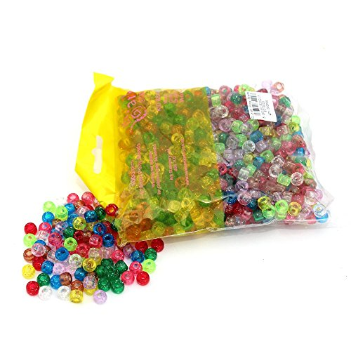 ark-craft-glitter-pony-beads-assorted-colours-1000pcs-kid0010