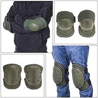 Nylon Muñeca 4 Deportes al Aire Libre Seguridad Rodilla Ajustable Codo Protector Protector Protector Gear