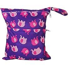 2-Zip lavable bolsa de pañales diseño ...