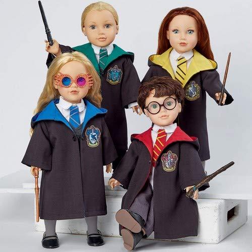 Simplicity S8942 - Cartamodello per vestiti da bambola di Harry Potter, carta, colore bianco