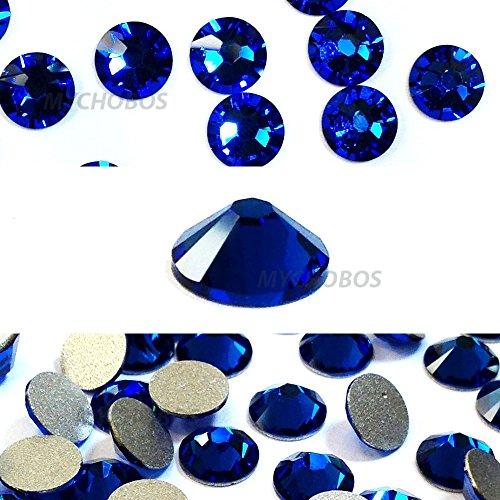 Capri Blue (243) Swarovski 2058Xilion/New 2088Xirius 16SS flatbacks keine hotix Nail Art Strass 4mm SS16 -