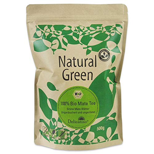 Bio Mate Tee Delicatino Premium - Natural Green - 500g (natürlich und ungeräuchert)