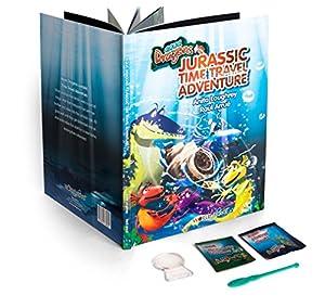 Aqua Dragons Jurassic Time Travel Adventure Juguete Educativo World Alive 4011