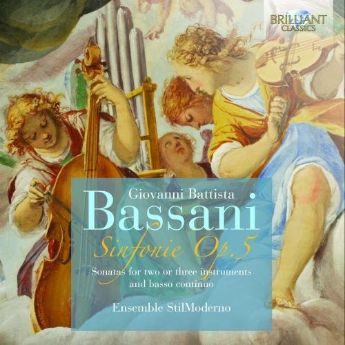 Preisvergleich Produktbild Bassani: Sinfonie Op.5