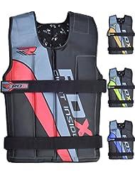 RDX Gym Lastrado Chalecos De Peso Fitness Weighted Vest Entrenamiento Chaleco Pesas