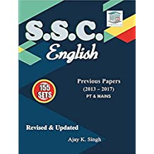 SSC English Revised & Updated Previous Papers (2013 - 2017) 155 set Ajay Singh MB Publication Latest Edition 2018 - 2019