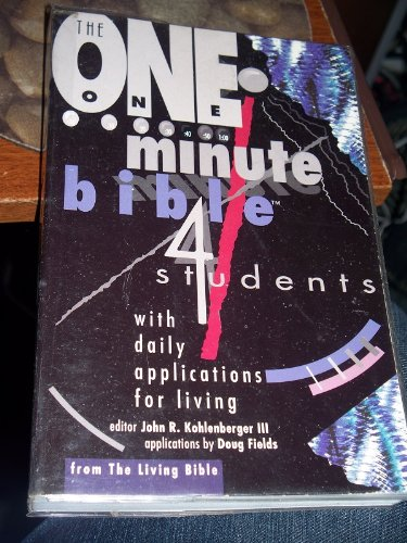 One Minute Bible for Students: 366 Readings