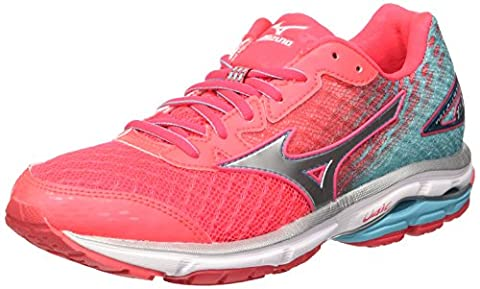 Mizuno Women's Wave Rider Wos Competition Pink Size: 6.5