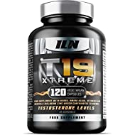 Iron Labs Nutrition, T19 Xtreme - 120 Capsules - Featuring D-Aspartic Acid and Zinc which contributes to normal Testosterone Levels
