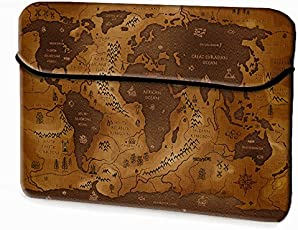 Theskinmantra Cool Map laptop sleeve for 15.6 inch