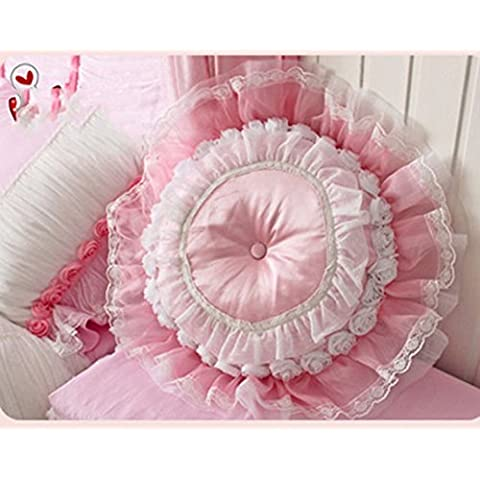 famiglia, letto +, cuscino del collo Bianco rose fiori rosa