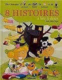 8 Histoires a Lire a Deux - Histoires d'aventurier, de cheval... - De 4 à 6 ans