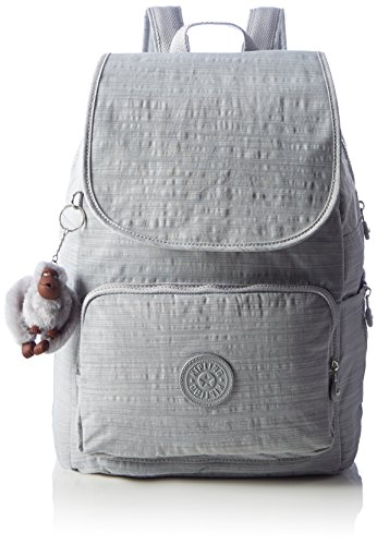 Imagen de kipling  cayenne,  mujer, grey dazz grey , 27x37x19.5 cm w x h x l