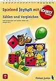 Logico Rondo, Spielbücher, Zählen und Vergleichen (LOGICO RONDO / Lernspiel mit Selbstkontrolle für Kindergartenkinder und 1. Klasse) - Doris Fischer