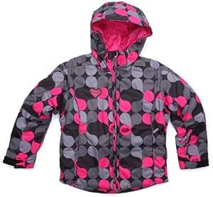 sun valley junior smil veste ski impermeable fille allover noir 6 ans sports et loisirs. Black Bedroom Furniture Sets. Home Design Ideas