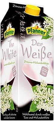 Pfanner weißer Tee Zitrone-Holunderbl., 6er Pack (6 x 2 l)