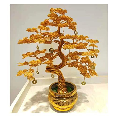 Home feng shui albero money tree casa decorazione del salone feng shui decorazione pietre alberi home office casa décor regalo salute miglior regalo albero fortunato