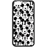 Diseño de Minnie Mickey Mouse para iPhone 6/6S, vientos iPhone 15.24 cm para casco, carcasa para iPhone 6S, teléfono móvil golfdesign back cover Funda para iPhone 6/6S