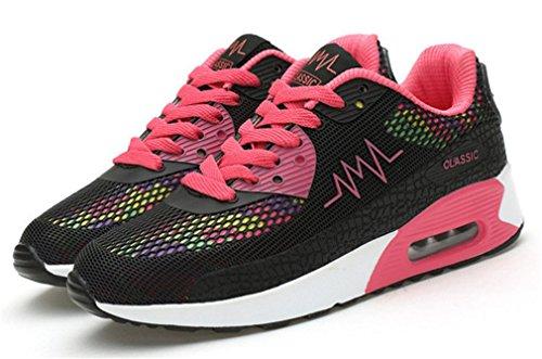 NEWZCERS , Chaussures d'athlétisme pour femme Schwarz