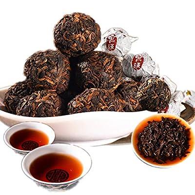Thé Pu Erh chinois Thé Puer mûr Thé noir Cour thé chaud Vieux arbres Thé Pu Erh Soins de la santé Thé Pu Erh